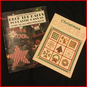 Vtg Christmas Cookie & Craft Books